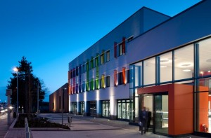 Northbrook College, Worthing by ECE Architects. Architectural Photography by Jim Stephenson